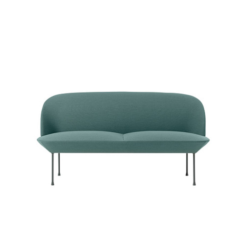 무토 오슬로 소파Oslo Sofa 2 Seater Steelcut Trio 966