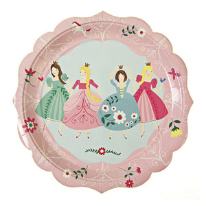 Party Plates I'm A Princess Large