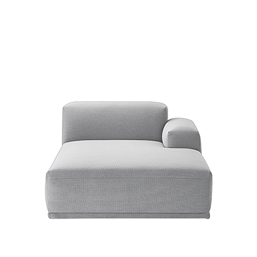 무토 커넥트 소파 Connect Modular Sofa Right Armrest Lounge (K)