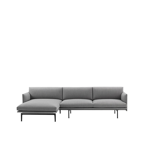 무토 아웃라인 소파 Outline Sofa Chaise Lounge Fiord 151