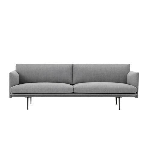 무토 아웃라인 소파 Outline Sofa 3Seater Vancouver14
