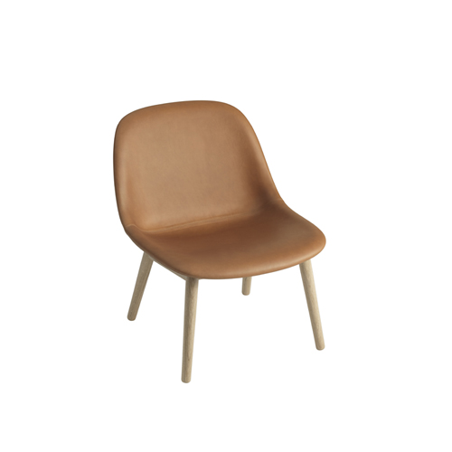 무토 화이버 라운지체어 Fiber Lounge Chair Wood Base 4colors