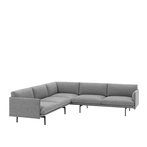 무토 아웃라인 소파 Outline Sofa Corner Hallingdal 166