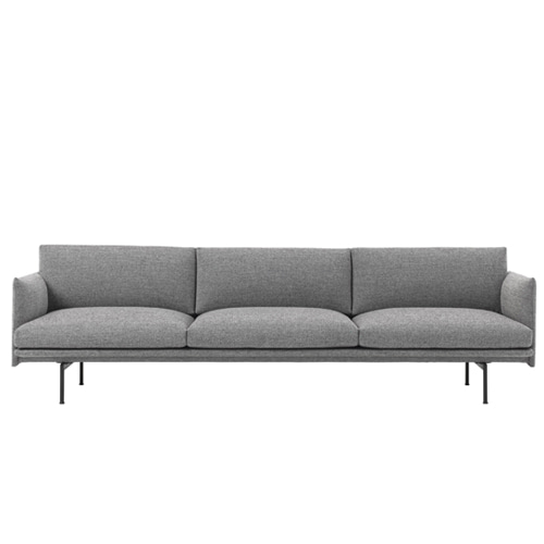 무토 아웃라인 소파 Outline Sofa 3½Seater Hallingdal 166