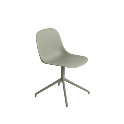 무토 화이버 사이드 체어 스위블 Fiber Side Chair Swivel BaseW.O.Return Dusty Green/Dusty Green