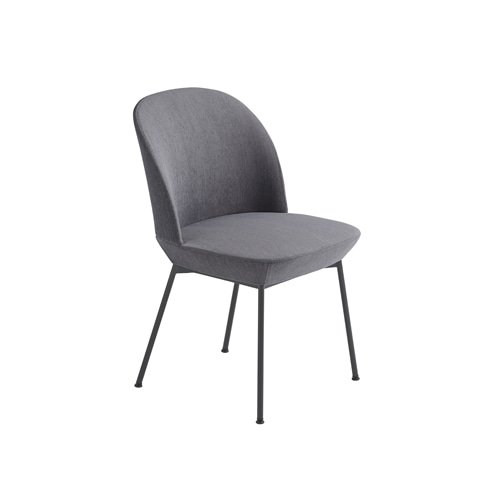 무토 오슬로 사이드 체어 Oslo Side Chair Still 161/Anthracite Black