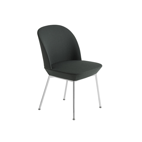 무토 오슬로 사이드 체어 Oslo Side Chair Twill Weave 990/Chrome