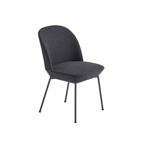 무토 오슬로 사이드 체어 Oslo Side Chair Ocean 601/Anthracite Black