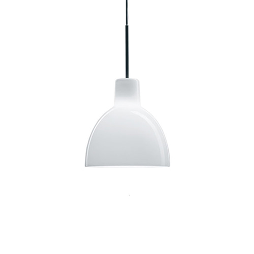 Toldbod 155 Pendant White Opal Glass