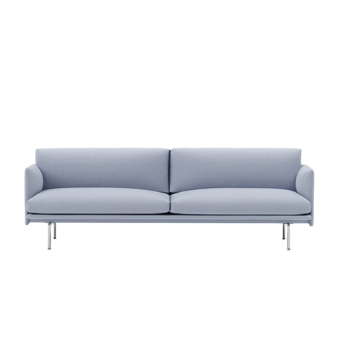 무토 아웃라인 소파 Outline Sofa 3Seater Aluminum Base Vidar 723