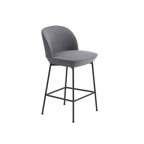 무토 오슬로 카운터 스툴  Oslo Counter Stool H 65cmStill 161/Anthracite Black