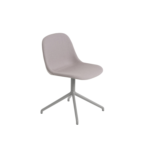 무토 화이버 사이드 체어 스위블 Fiber Side Chair Swivel Base W.O.Return Twill Weave 620/Grey