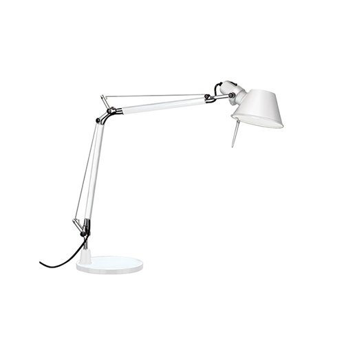 아르테미데 ARTEMIDE Tolomeo Table Lamp White