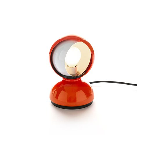 아르테미데 ARTEMIDE Eclisse Table Lamp Orange