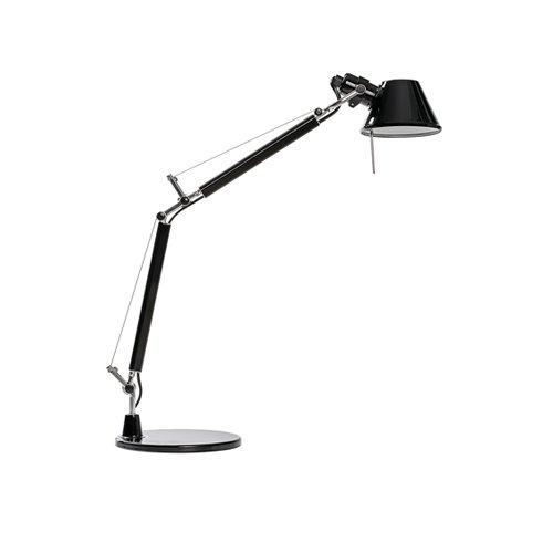 아르테미데 ARTEMIDE Tolomeo Table Lamp Black